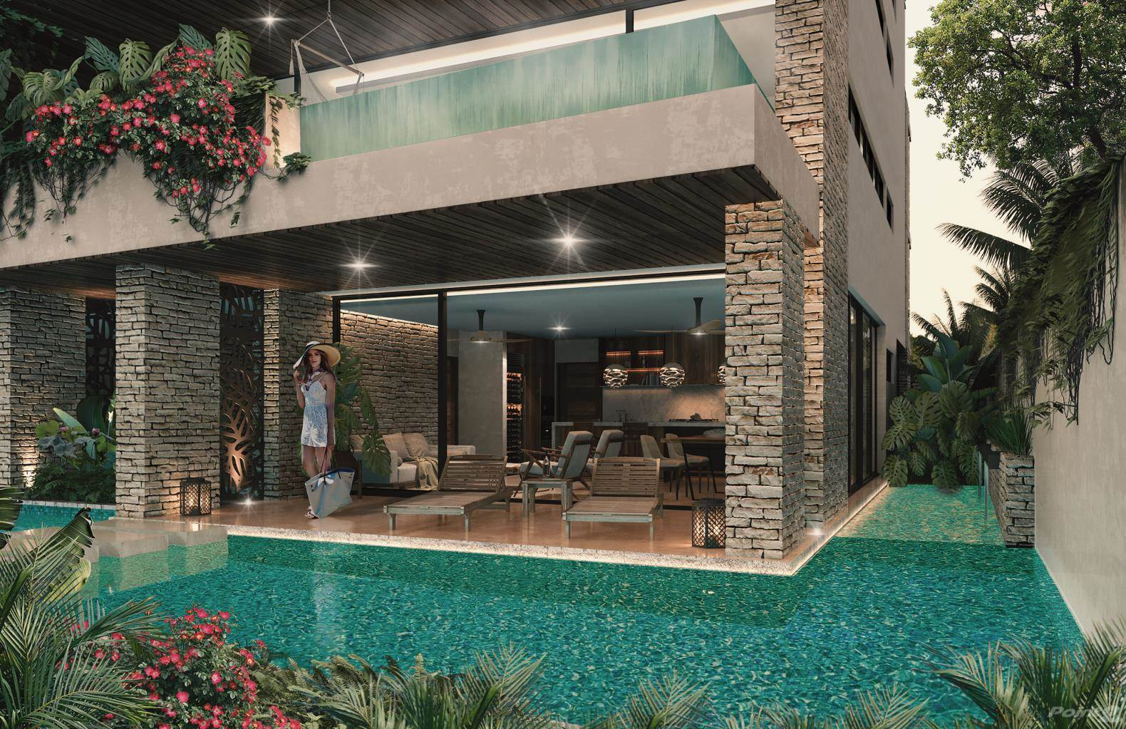 Residencial en venta en A Unique Boutique Residential Development, Located in the Majestic Community of Aldea Premium, Tulum, Quintana Roo ,77760  , México